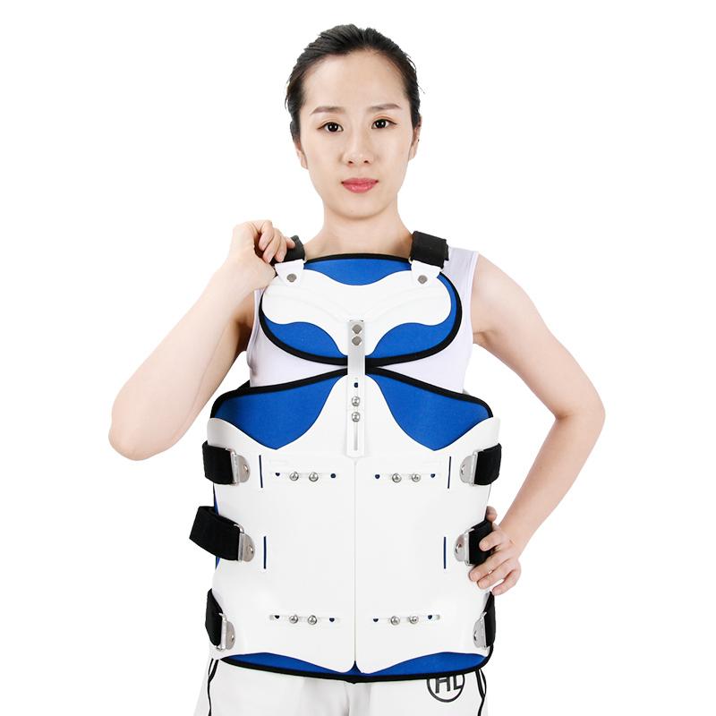 背心式外固定支具的使用方法和护理